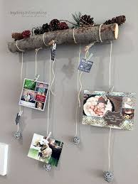 branch decor how to turn a tree branch into a card display hometalk