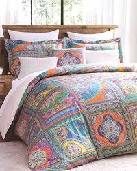Patchwork Duvet Sets Vintage Scarf Blue Mandala Tapestry Duvet Quilt Cover Modern