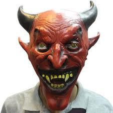 aliexpress com buy horror reddevil mask halloween adults latex