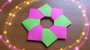diy very easy 1 minute christmas star how to make paper origami
