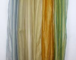 White Gold Curtains Gold Curtains Etsy