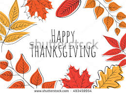 free happy thanksgiving vector illustration free vector