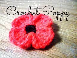 diy crochet poppy the corner of craft youtube