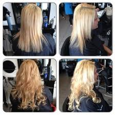 micro weft extensions hair extensions using the micro ring and weft methods