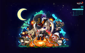 zero halloween background maplestory wallpapers 100 full hdq maplestory images fungyung