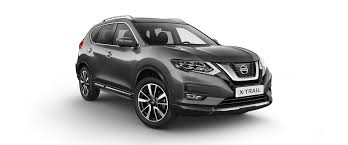 dark gray nissan x trail