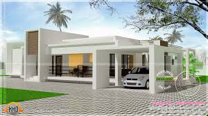 Kerala Home Plan Single Floor Contemporary Single Storied Luxury Home Kerala Home Design And