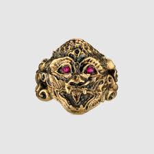 monkey head ring gucci fashion rings 489198i45538034
