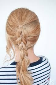 easy hairstyles not braids the no braid braid 5 pull through braid tutorials hair romance