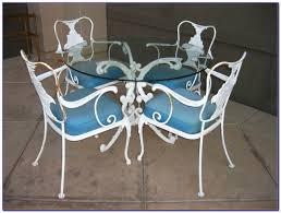 Wrought Iron Vintage Patio Furniture by Vintage Wrought Iron Patio Furniture Patios Home Decorating