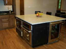 100 powell kitchen island marble countertops height of