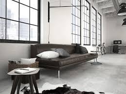 canapé style industriel 50 salons et salles à manger de style loft ou industriel étonnants