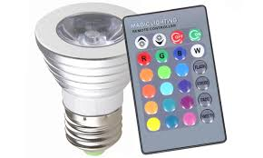 color changing led light bulbs 2 pack groupon