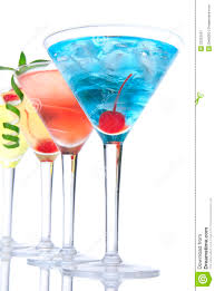 martini tropical popular alcoholic cocktails tropical martin stock image image