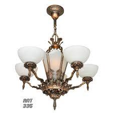 Art Nouveau Chandelier Antique Art Deco Chandelier And Art Deco Nouveau Chandeliers For