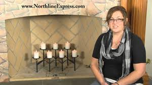 decorating wonderful fireplace candelabra with five candle space