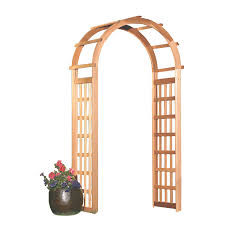 lowes wedding arches shop garden architecture 3 4 ft w x 7 2 ft h garden arbor