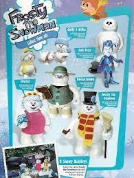 powerofbabel frosty snowman action figures