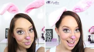 simple u0026 cute easter bunny makeup tutorial by eyedolizemakeup