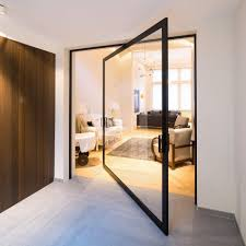 Unique Room Divider Innovative Pivoting Doors Double As Room Dividers