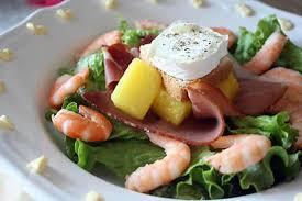 cuisine sucré salé recette de salade sucré salé crevette ananas