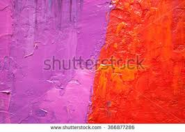 violet red oil painting abstract art stock illustration 366877286