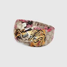 tiger headband gucci bengal headband gucci women s headbands 4526963g0409672