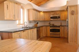 Furniture Kitchen Cabinet The Placement Of The Pine Wood Furniture In The Kitchen Will Add
