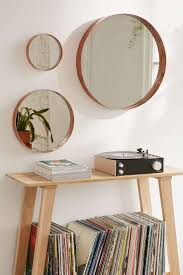 Urban Outfitters Vanity Vanity Three Piece Mirror Wall Setmirror Set Of Gold Star