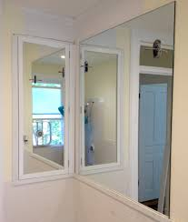 How To Frame A Large Bathroom Mirror by Bathroom Recessed Medicine Cabinets For Creative Bathroom Storage