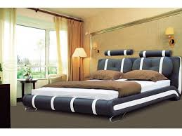 Luxury Designer Beds - low height comfort bed home decor and design