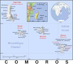 map comoros comoros km country map atlas