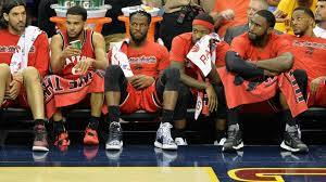 basketball player on bench demarre carroll says lack of trust between players doomed raptors