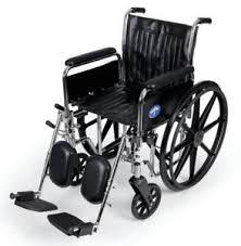 medi mds806300dfla wheelchair excel 18 fla elr ebay