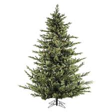 shop fraser hill farm 7 ft 6 in pre lit foxtail pine artificial