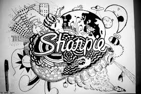 Cool Designs Images About Sharpie Art On Pinterest Super Interior Design Cool