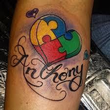 36 best tatt images on pinterest autism tattoos autism