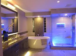 dazzling design bathroom led lighting ideas just another