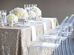 new sale select your sale silver sequin tablecloth wedding table