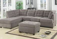 grey sectional sofas loveseats u0026 chaises ebay