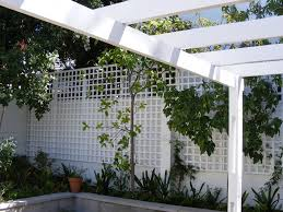 custom wooden timber trellis by edgewoods your woodworking
