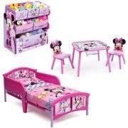 minnie mouse bedroom set amazon com minnie mouse bedroom set with bonus toy organizer