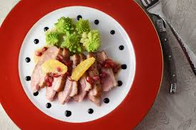 clementine cuisine seared duck breast with clementine pomegranate beurre blanc