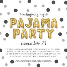 thanksgiving pajama county chamber of commerce