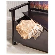 castlecreek whitetail storage bench 624263 patio furniture at