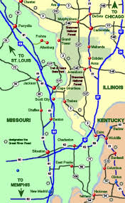Ohio rivers images Area map of the mississippi meets the ohio river region jpg