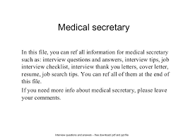Receptionist Job Duties For Resume by Medical Office Assistant Resume Sample Medical Receptionist Resume