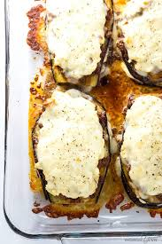 Low Carb Comfort Food Eggplant Lasagna Recipe Without Noodles Low Carb Gluten Free