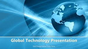 global technology powerpoint template powerpoint templates