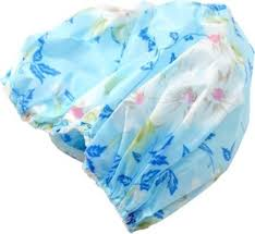 out of box reusable elastic water proof shower cap price in
